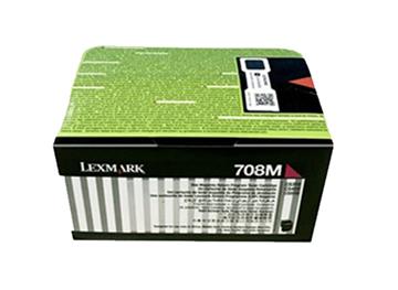 图片 利盟(Lexmark)70C8HM0 洋红色碳粉盒 大容量 适用于:CS310 CS410 CS510