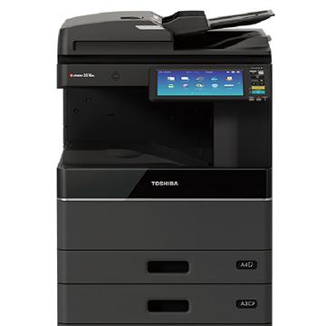 图片 东芝(TOSHIBA) A3黑白数码复印机 e-STUDIO 3018A (复印/网络打印/网络扫描/双面器/双纸盒/双面输稿器/工作台)