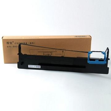 图片 得实 (Dascom) 80D-3 黑色色带架 适用于:2600II AR300K+ AR550 DS1860 长度16m*宽度13mm